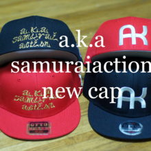 AKキャップ a.k.a samurai action new cap